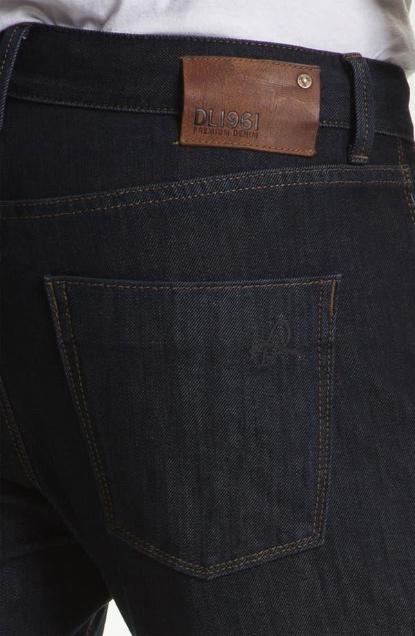 Alternate Image 4  - DL1961 'Russell' Slim Straight Leg Jeans (Viper)