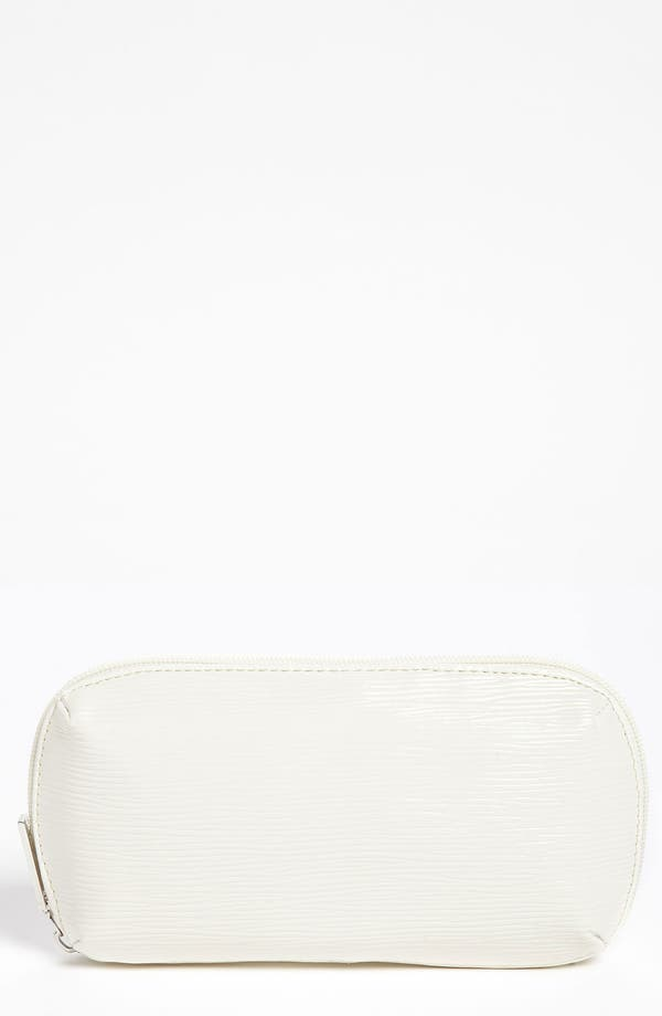 Alternate Image 1 Selected - Nordstrom White Brush Pouch