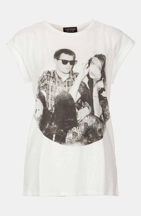 Main Image - Topshop Couple Graphic Tee