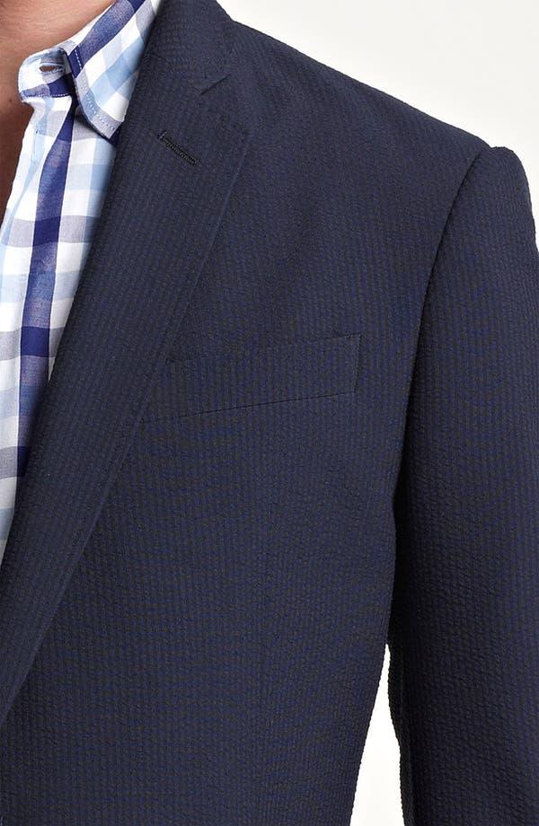 Alternate Image 3  - Armani Collezioni Seersucker Sportcoat