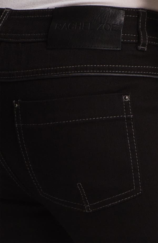 Alternate Image 3  - Rachel Zoe 'Julie' Piped Detail Skinny Stretch Jeans