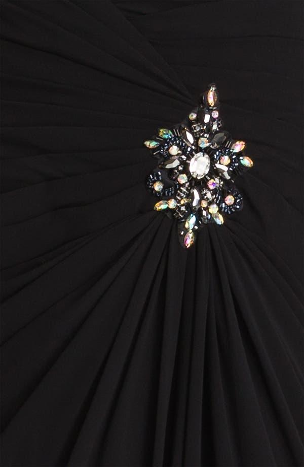 Alternate Image 3  - Veni Infantino Embellished Trumpet Gown