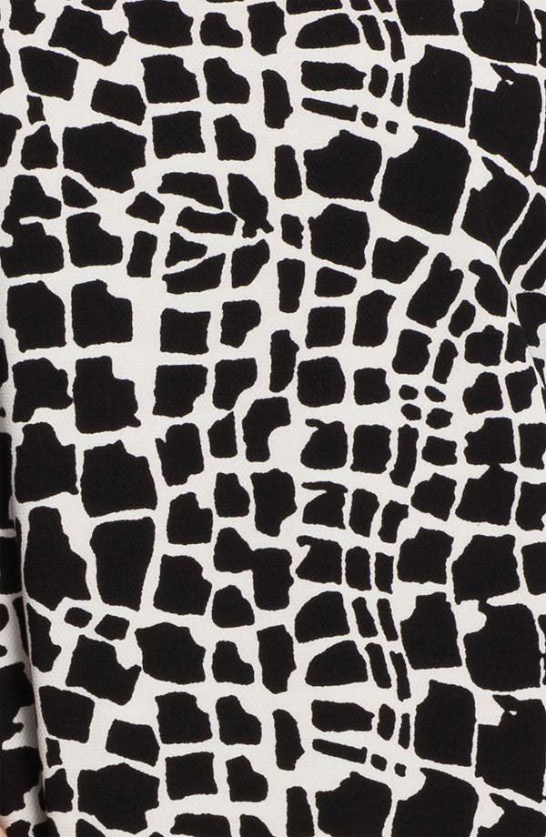 Alternate Image 3  - Tahari Graphic Print Shift Dress