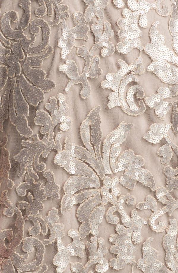 Alternate Image 3  - Tadashi Shoji Sequin Lace Dress
