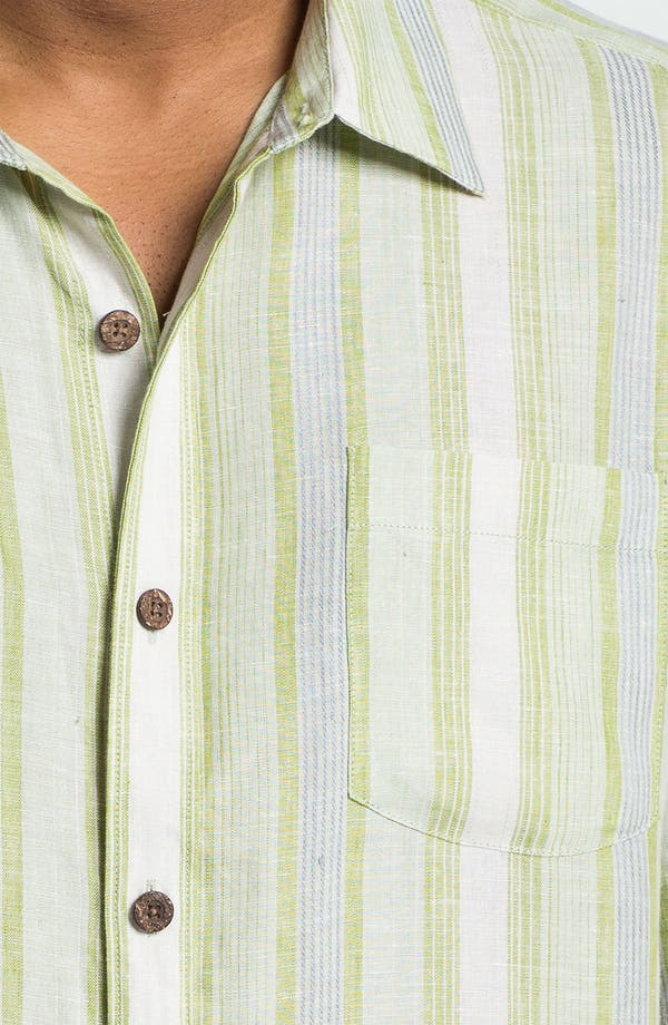 Alternate Image 3  - Tommy Bahama 'Aquarina' Linen Sport Shirt
