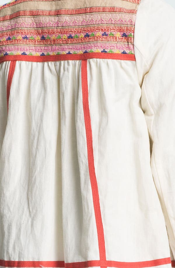 Alternate Image 3  - Free People 'Prairie' Embroidered Swing Jacket