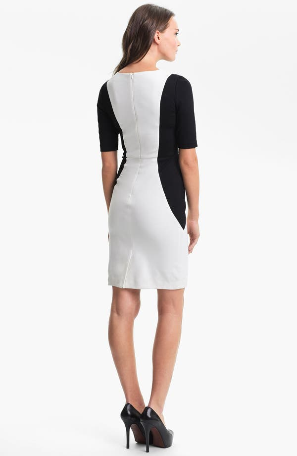 Alternate Image 2  - Trina Turk 'Vamp' Stretch Knit Sheath Dress