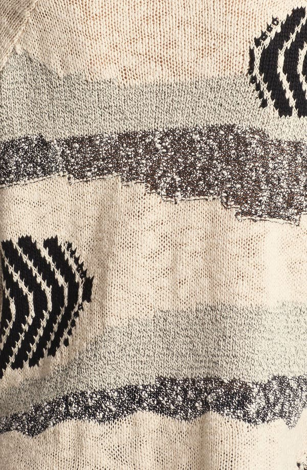 Alternate Image 3  - Free People 'Landscape' Fringed Sweater