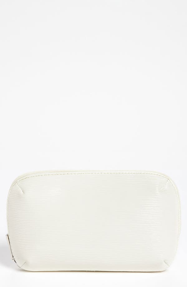 Main Image - Nordstrom White Cosmetic Clutch
