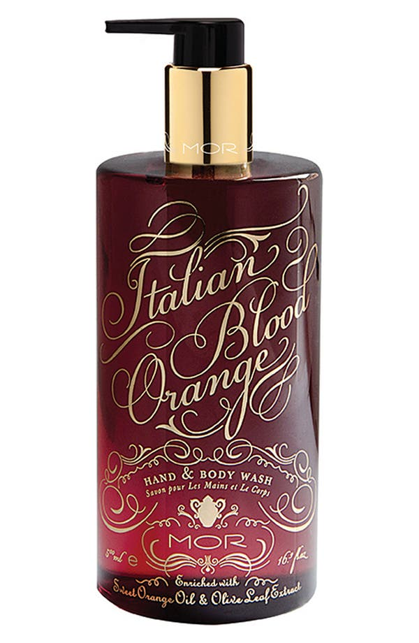 Alternate Image 1 Selected - MOR 'Italian Blood Orange' Hand & Body Wash