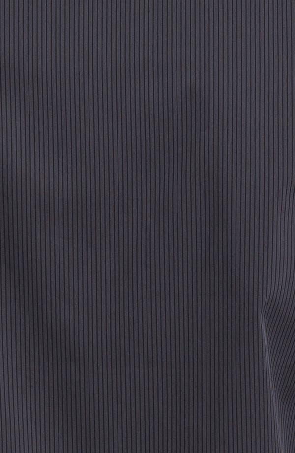 Alternate Image 3  - Armani Collezioni Tonal Stripe Stretch Sport Shirt