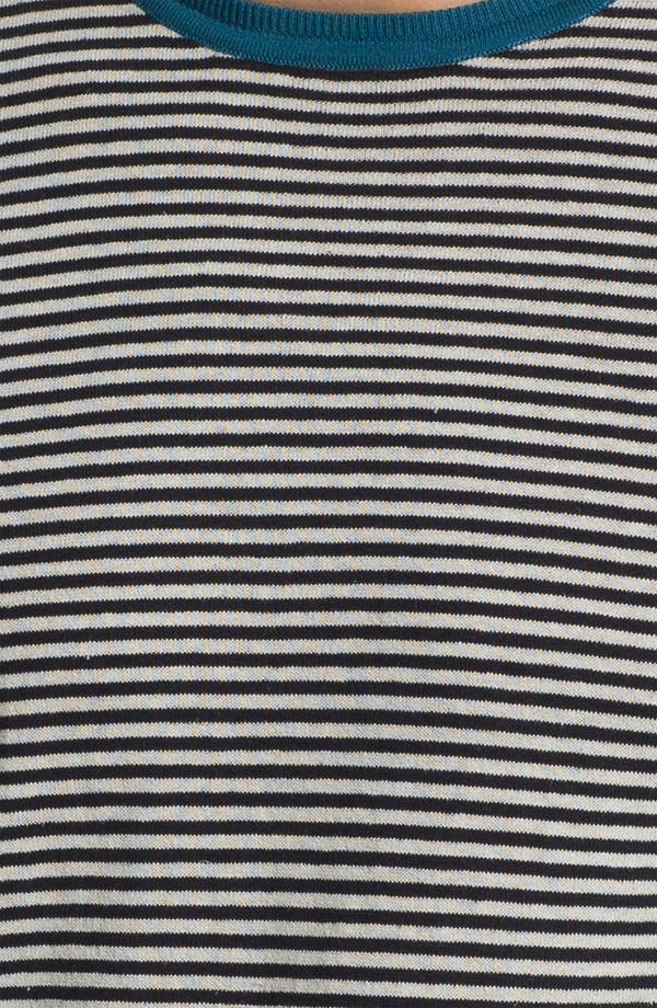 Alternate Image 3  - Zegna Sport Crewneck Cotton & Linen Sweater