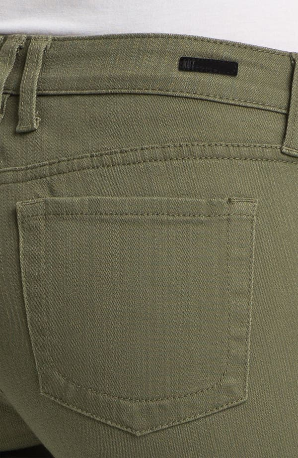 Alternate Image 3  - KUT from the Kloth 'Diana' Skinny Jeans (Pacific Olive)