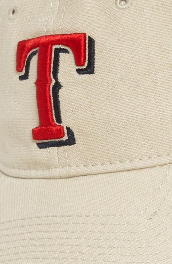 Alternate Image 2  - New Era Cap 'Shoreline - Texas Rangers' Baseball Cap