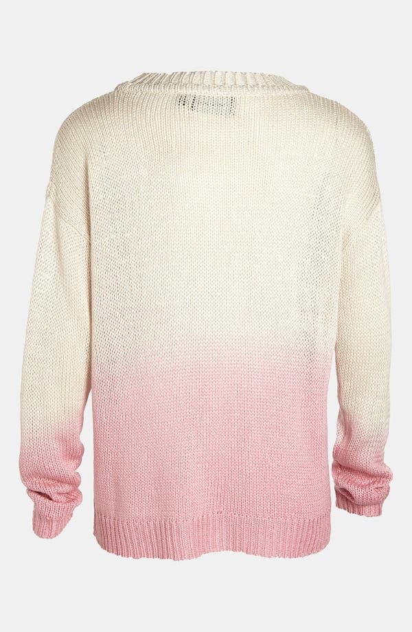 Alternate Image 3  - MINKPINK 'Melting Moments' Dip Dye Sweater