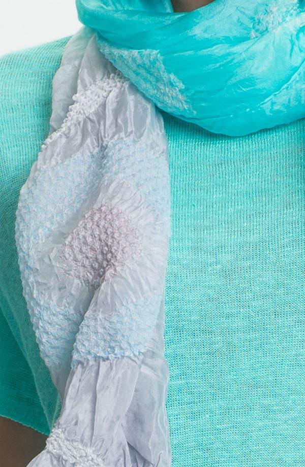 Alternate Image 3  - Eileen Fisher 'Daydream' Silk Shibori Scarf