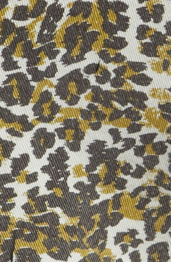 Alternate Image 4  - MINKPINK 'Runaway Leopard' Slash Shorts