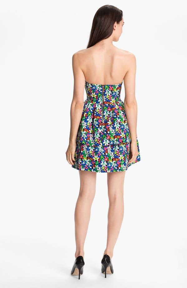 Alternate Image 2  - kate spade new york 'karmen' cotton blend fit & flare dress