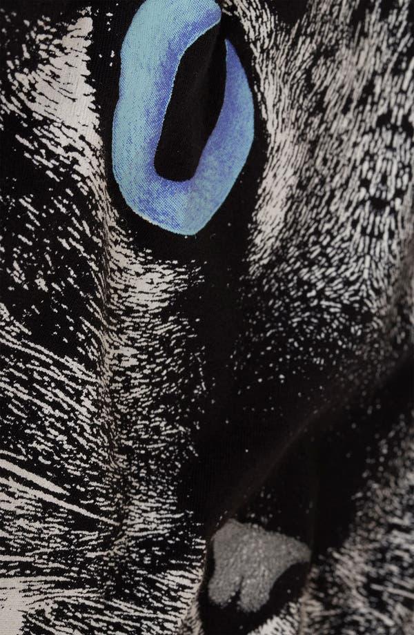 Alternate Image 3  - Topshop Cat Graphic Skater Dress (Petite)