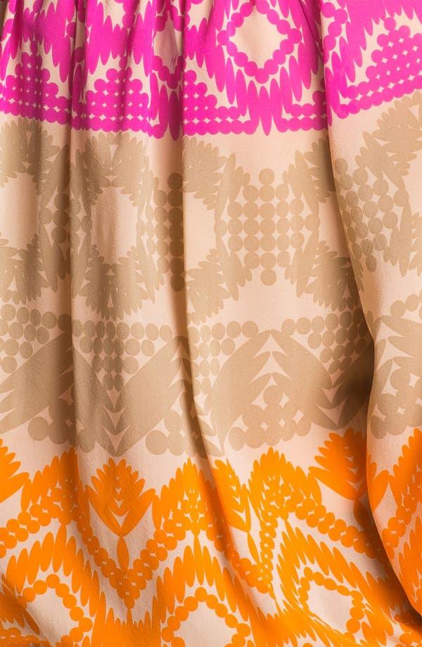 Alternate Image 3  - Trina Turk 'Traveller' Stretch Silk Top