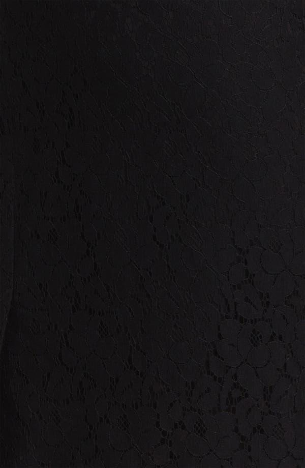 Alternate Image 3  - Halogen® Lace Pencil Skirt