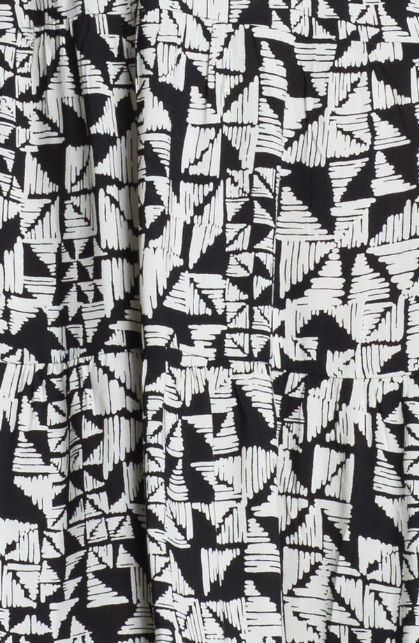 Alternate Image 3  - Tbags Los Angeles Abstract Print Maxi Dress
