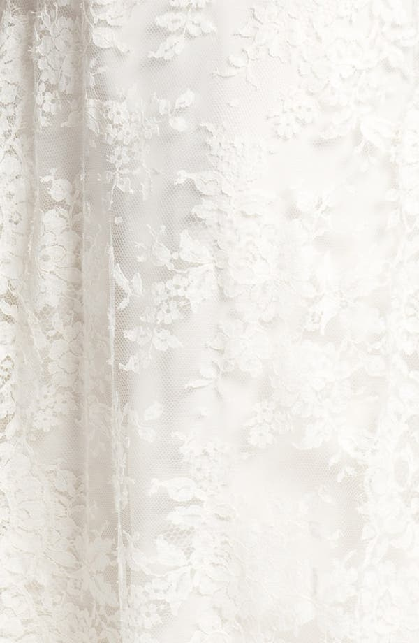Alternate Image 3  - Nicole Miller 'Brooke' Sleeveless Lace Trumpet Gown