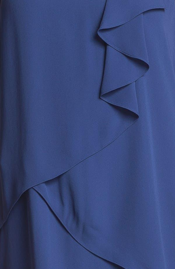 Alternate Image 3  - BCBGMAXAZRIA Ruffle Chiffon Dress