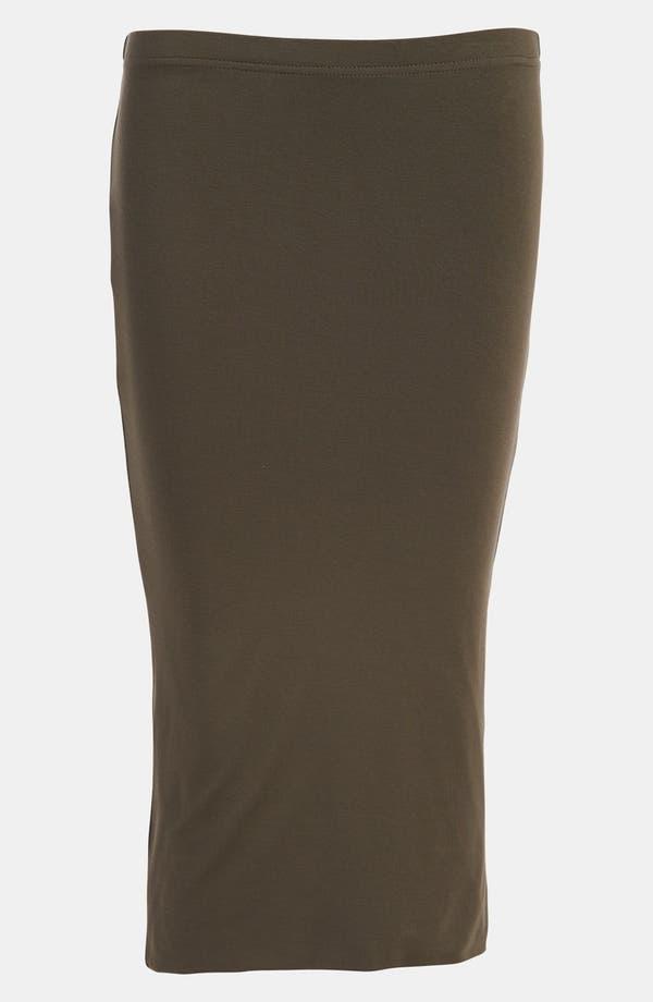 Double Layered Tube Skirt,                         Main,                         color, Brown- Major