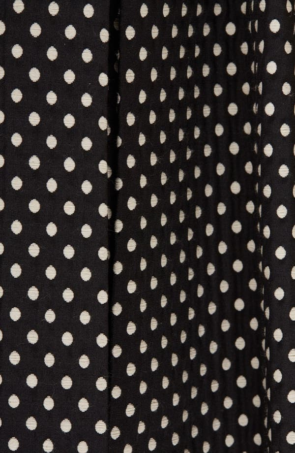 Alternate Image 4  - Topshop Polka Dot A-Line Skirt