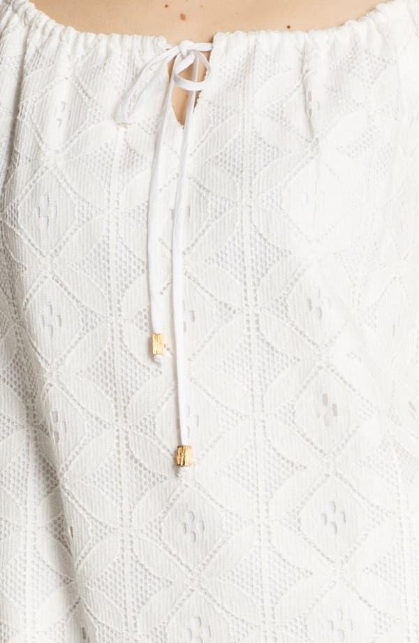 Alternate Image 3  - Trina Turk 'Amplify' Bell Sleeve Lace Shift Dress