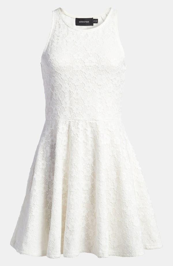 Alternate Image 1 Selected - MINKPINK 'First Love' Skater Tank Dress