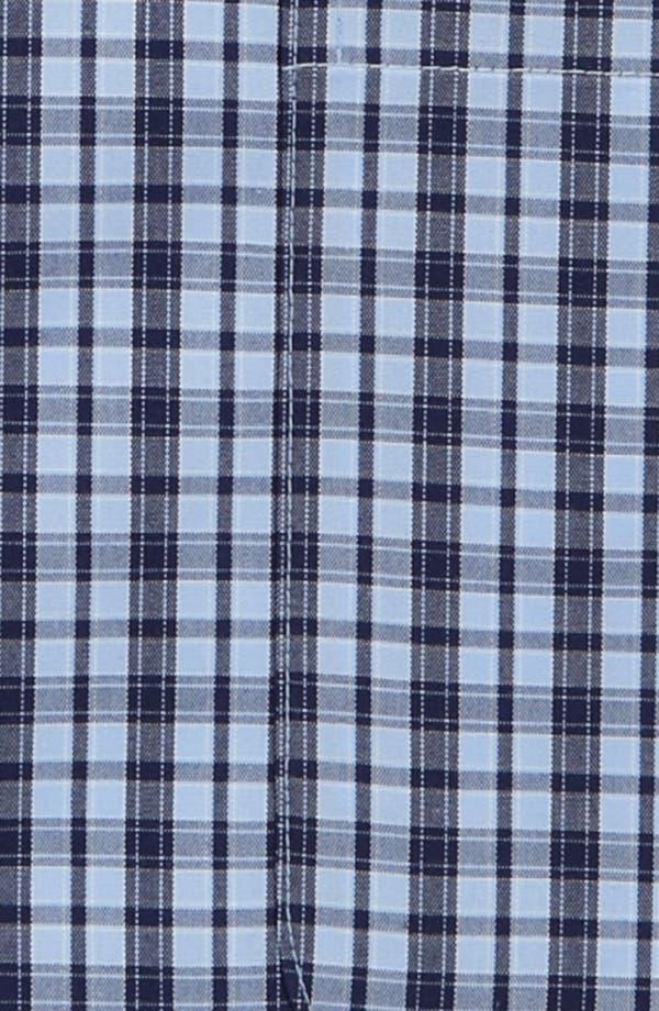 Alternate Image 2  - Nordstrom Smartcare™ Wrinkle Free Traditional Fit Short Sleeve Dress Shirt