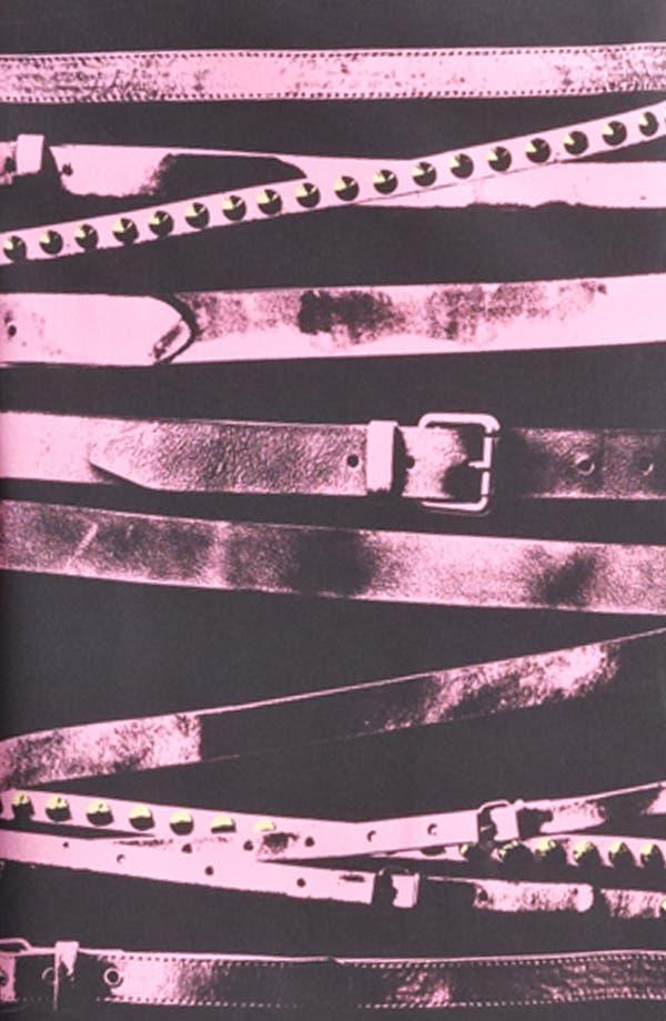 Alternate Image 3  - Moschino Cheap & Chic Sleeveless Belt Print Dress