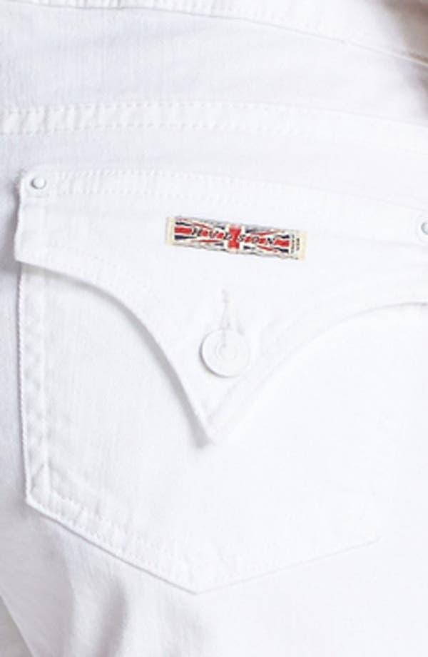 Alternate Image 3  - Hudson Jeans 'Hampton' Cuff Jean Shorts (White)