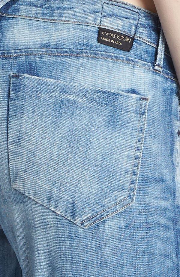 Alternate Image 3  - Goldsign 'Glam' Skinny Crop Jeans (Tatiana)