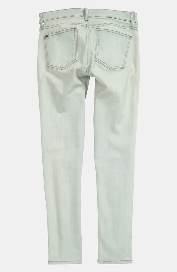 Alternate Image 2  - edyson Skinny Ankle Jeans (Bleach)