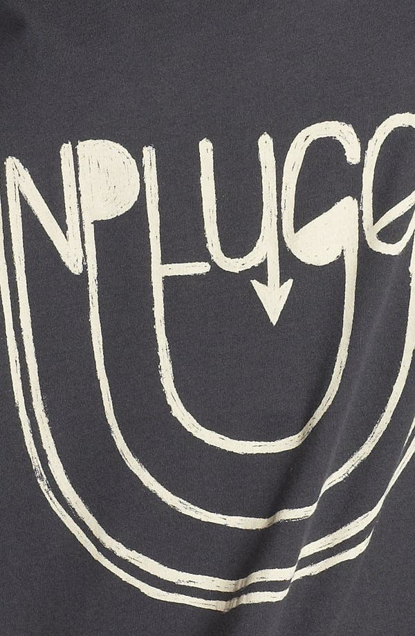 Alternate Image 3  - Recycled Karma 'Unplugged' Crop Tank (Juniors)