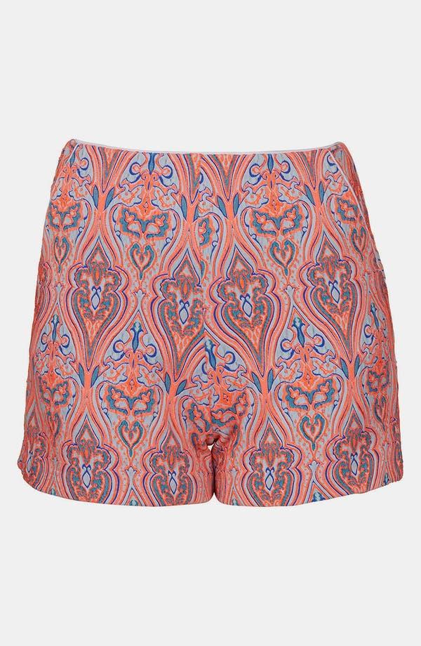 Alternate Image 3  - Topshop Paisley Shorts