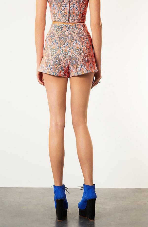 Alternate Image 2  - Topshop Paisley Shorts