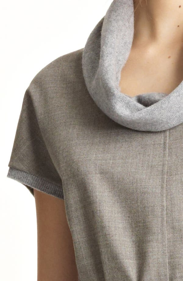 Alternate Image 3  - Fabiana Filippi Wool Front Sweater Dress