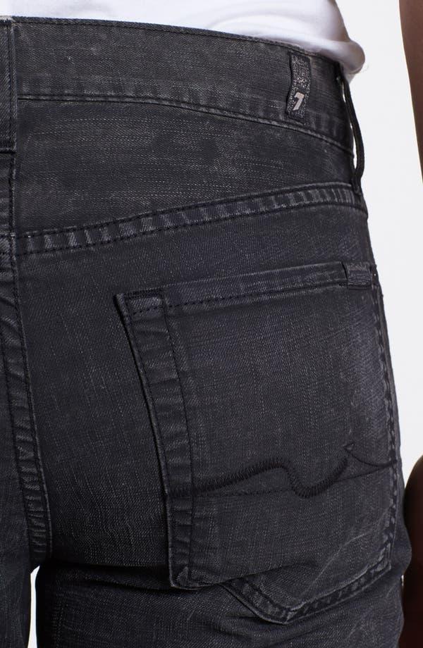 Alternate Image 4  - 7 For All Mankind® 'Slimmy' Slim Fit Jeans (Seven Mile Lane)