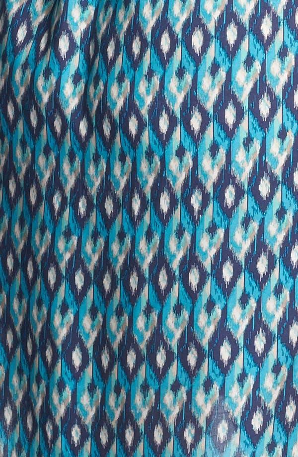 Alternate Image 3  - Lucky Brand 'Vailea' Print Shirtdress (Plus Size)