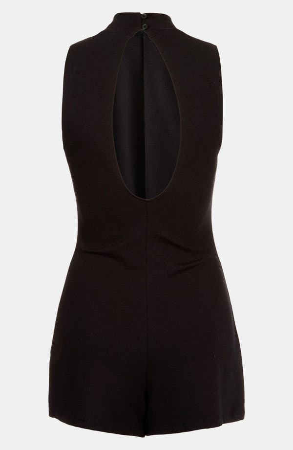 Alternate Image 2  - Topshop High Neck Romper