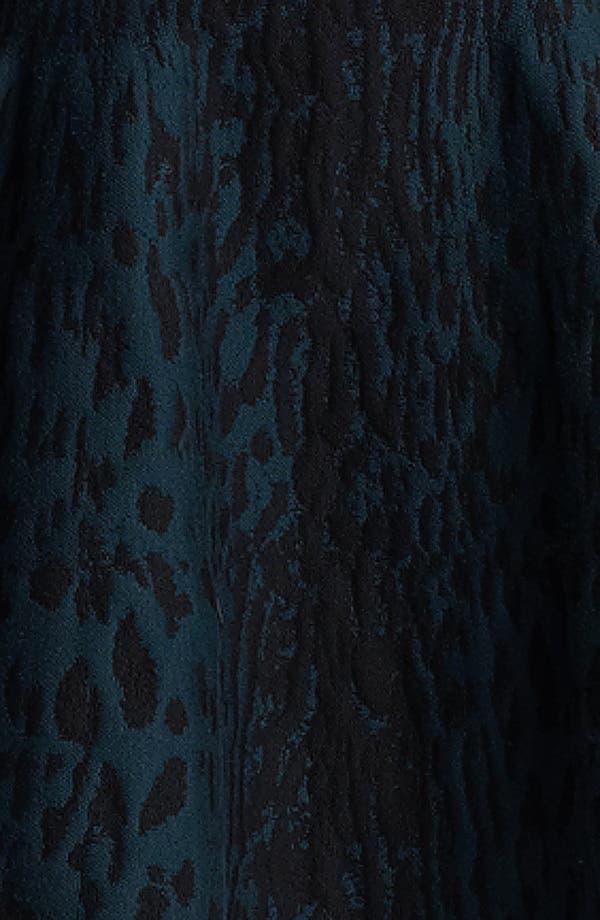 Alternate Image 3  - Lanvin Full Skirt Leopard Jacquard Dress