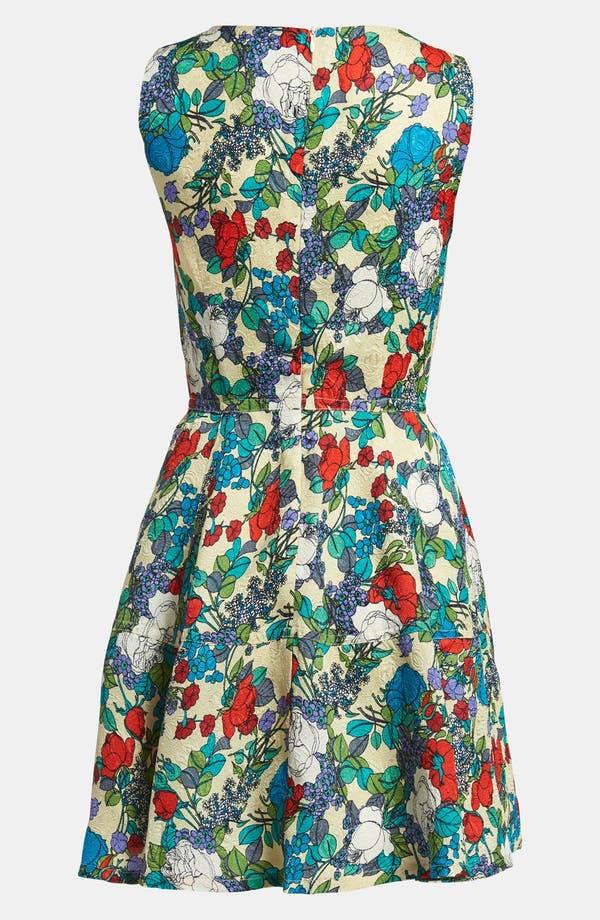 Alternate Image 2  - I.Madeline Floral Print Dress