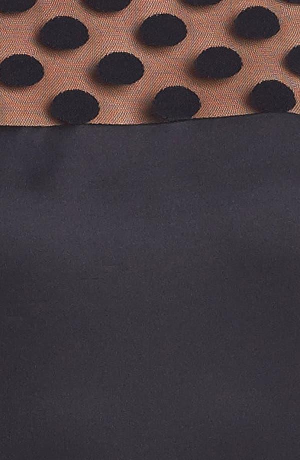 Alternate Image 3  - Eliza J Illusion Yoke Drop Waist Dress
