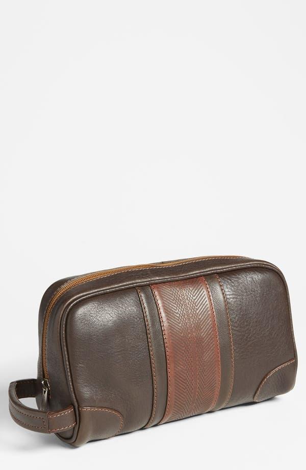 Alternate Image 1 Selected - Martin Dingman Leather Travel Kit