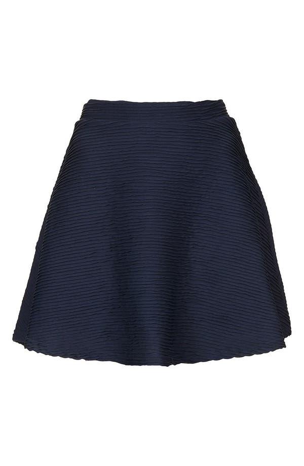 Alternate Image 3  - Topshop Ottoman Skater Skirt