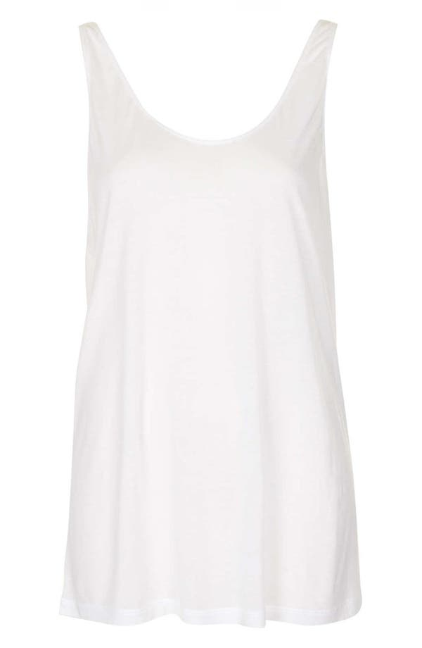 Alternate Image 3  - Topshop Boutique Relaxed Modal & Cashmere Tank
